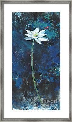 Lotus IIi Framed Print by Mui-Joo Wee