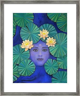 Lotus Nature Framed Print