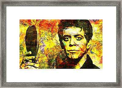 Lou Reed Framed Print by Dan Sproul