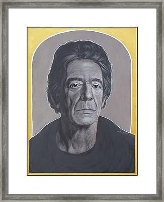 Lou Reed Framed Print