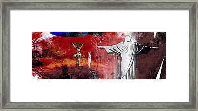 L'oublie De L'apocalypse Framed Print by Francois Domain