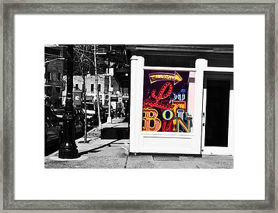 Louboutin In The City.  Framed Print by Ashley Knowles
