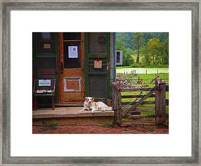 Loudoun Times Framed Print by Skip Hunt
