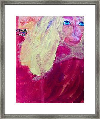 Louella Tries To Have Hope Framed Print
