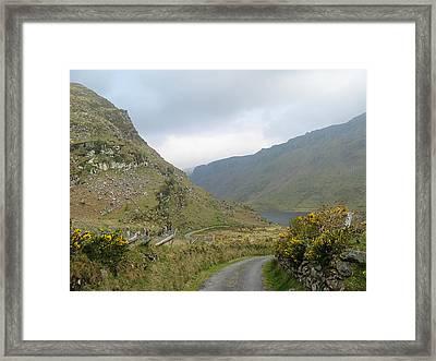 Lough Anascaul Framed Print