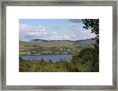 Lough Eske 4237 Framed Print