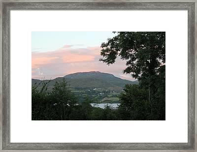 Lough Eske 4258 Framed Print