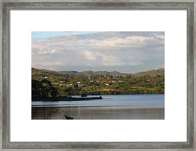 Lough Eske Framed Print