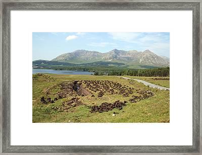 Lough Inagh Valley Framed Print by John Quinn