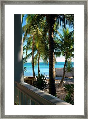 Louie's Backyard Framed Print by Susanne Van Hulst