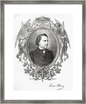 Louis Blanc  Jean-joseph-charles Framed Print