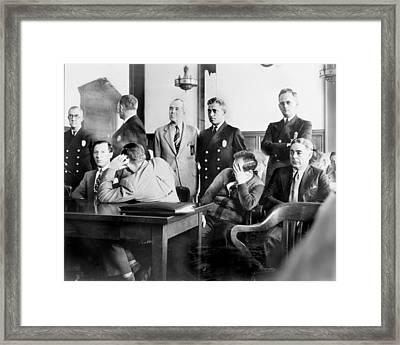 Louis Buchalter At Murder Trial, Louis Framed Print by Everett