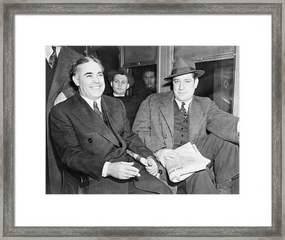 Louis Capone 1896-1944 And Emanuel Framed Print