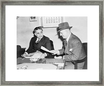Louis Capone 1896-1944 Framed Print by Everett