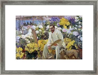 Louis Comfort Tiffany Framed Print by MotionAge Designs