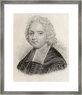 Louis Ellies Du Pin, Or Dupin,1657 To Framed Print