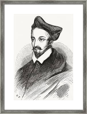 Louis II De Lorraine, Cardinal Framed Print by Vintage Design Pics