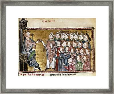 Louis Ix (1214-1270) Framed Print by Granger
