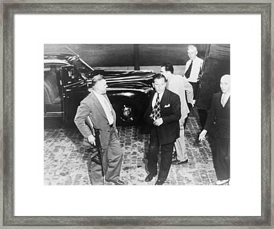 Louis Lepke Buchalter 1897-1944 Framed Print
