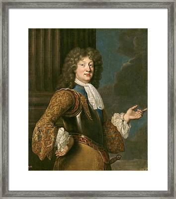 Louis Of France The Grand Dauphin Framed Print by After Francois de Troy