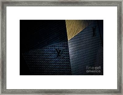 Louis Vuitton At City Center Las Vegas Framed Print