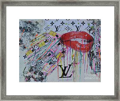 Louis Vuitton The Magnificent Seven 3 Framed Print by To-Tam Gerwe
