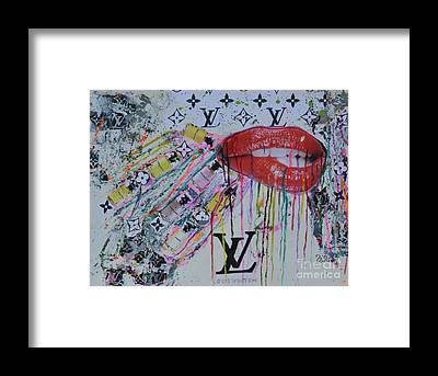 Louis Vuitton Framed Prints