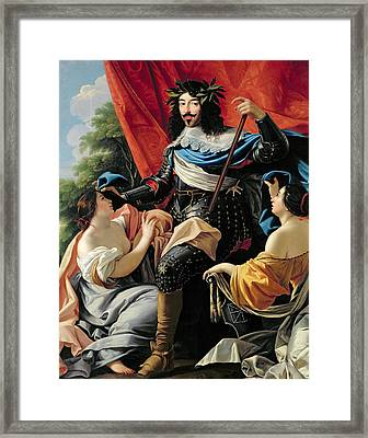 Louis Xiii Framed Print