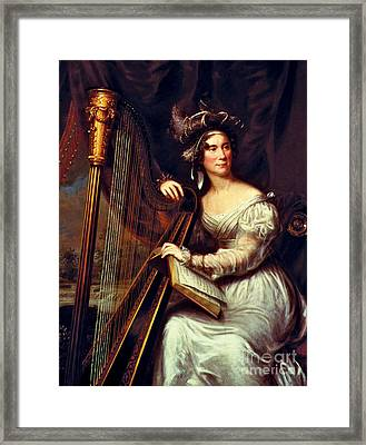 Louisa Adams, First Lady Framed Print