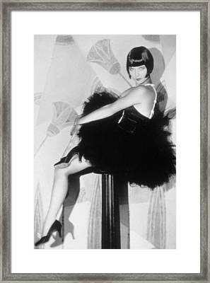 Louise Brooks, C. 1929 Framed Print by Everett
