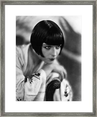 Louise Brooks, Ca. 1929 Framed Print by Everett
