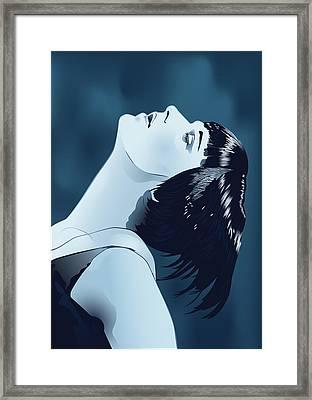 Louise Brooks In Berlin Framed Print by Vintage Brooks