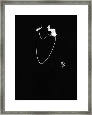 Louise Brooks, Photo By Ruth Harriet Framed Print by Everett