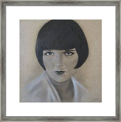 Louise Framed Print by Lynet McDonald