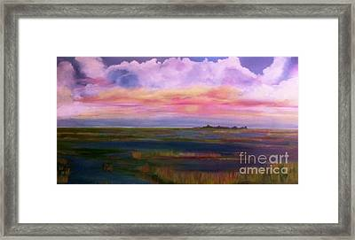 Louisiana Clouds Framed Print