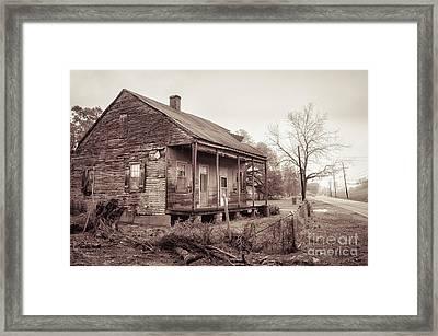 Louisiana House On River Road Framed Print by Kathleen K Parker