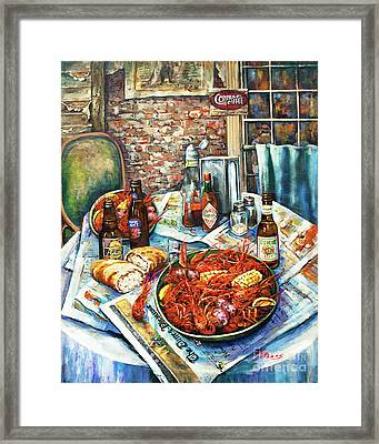 Louisiana Saturday Night Framed Print