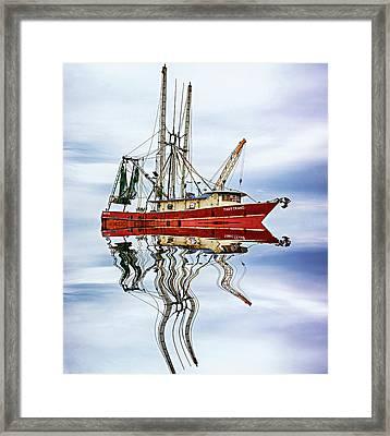 Louisiana Shrimp Boat 4 Framed Print