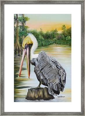 Louisiana Sunrise Framed Print by Phyllis Beiser