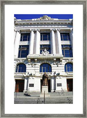 Louisiana Supreme Court Building, New Orleans, Louisiana Framed Print