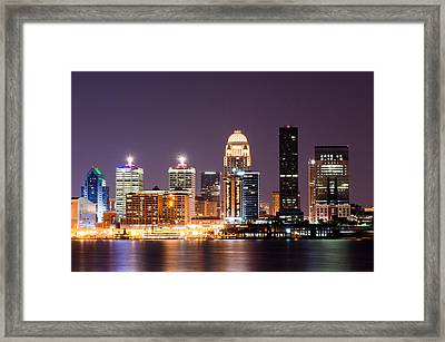 Louisville 1 Framed Print