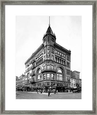 Louisville Department Store Framed Print by Underwood Archives