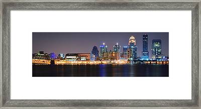 Louisville Stretch Framed Print by Frozen in Time Fine Art Photography