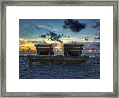 Lounge For Two Framed Print