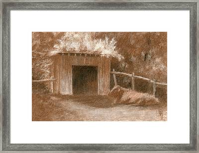 Lounging Framed Print by David King