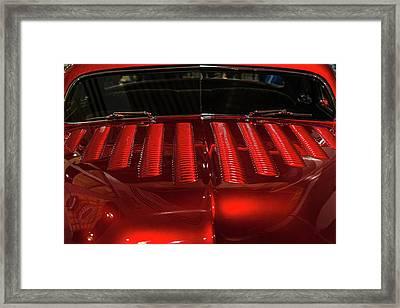 Louvered Hood Framed Print by Joe Hudspeth