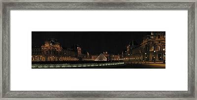 Louvre Framed Print by Gary Lobdell