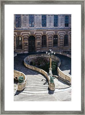 Louvre Staircase Framed Print
