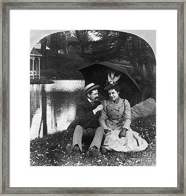 Love, 1900 Framed Print by Granger