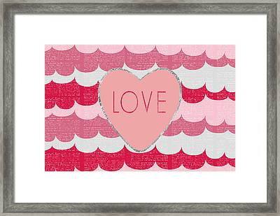 Love 2 Framed Print by Sabine Jacobs